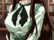 Hentai waitress with perfect firm tits